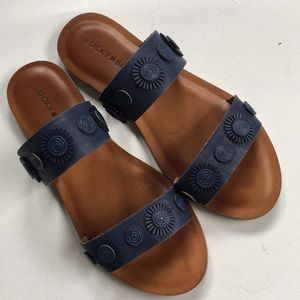 EUC Lucky Brand leather sandals